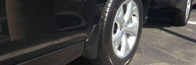 Автомобильные брызговики – классификация и особенности установки