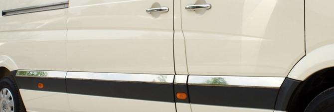 Хромированные молдинги на авто – несложная и эффективная операция