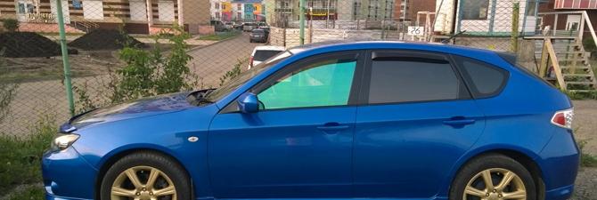 Фиолетовая пленка – добавь стиля своему авто