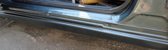Ремонт порогов автомобиля – как вернуть жизнь поврежденным деталям