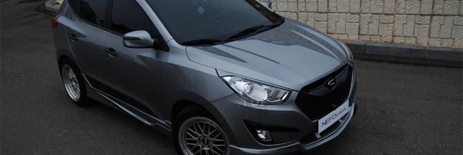 Тюнинг Хендай ix35 – преобразим популярную корейскую машину!