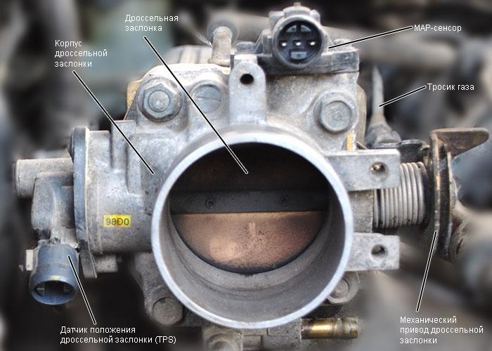 Фото №9 - чистка дроссельной заслонки ВАЗ 2110 8 клапанов