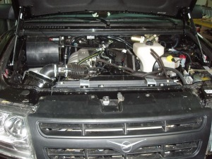 На фото - чип-тюнинг двигателя УАЗ Патриот, pro-vnedorozhniki.ru
