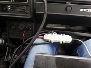 На фото - чип-тюнинг ВАЗ 2107 своими руками, drive2.ru