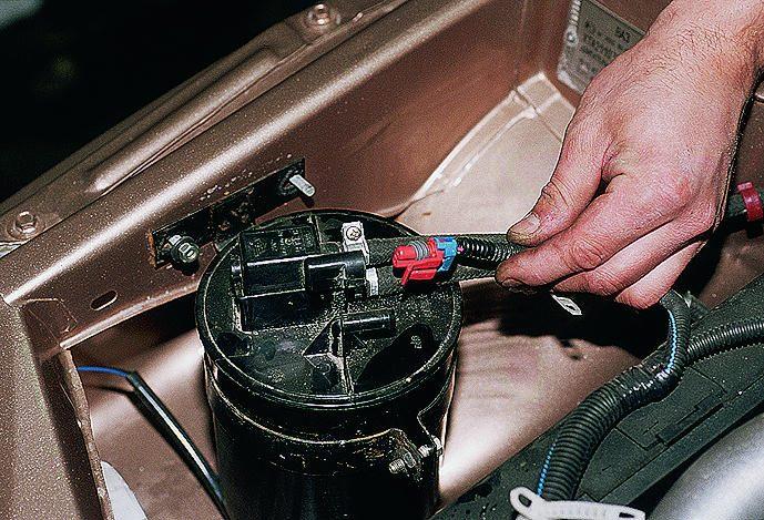 Фото №5 - как проверить исправность бензонасоса ВАЗ 2110