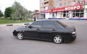 На фото - улучшение показателей Лады Приоры, weblada.ru