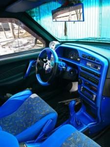 На фото - тюнинг панели ВАЗ 2114, avtomobile.cc