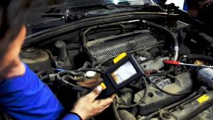 На фото - диагностика Subaru, subsuz.ru