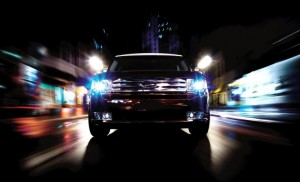 На фото - разрешенные осветительные приборы автомобиля, 1zoom.ru