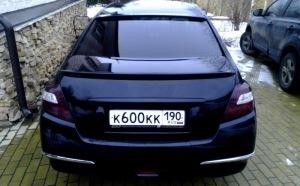На фото - тонировка задних фар автомобиля, drive2.ru