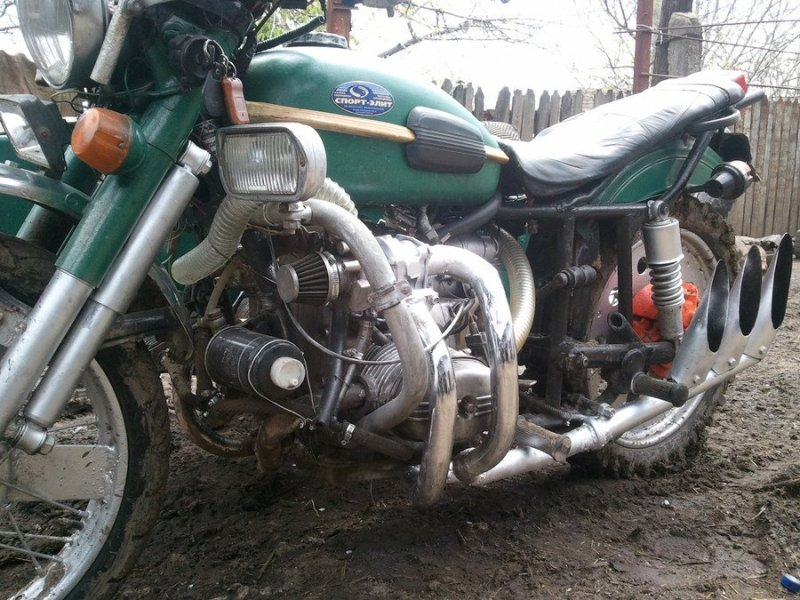 Мотора для мотоцикла своими руками 127