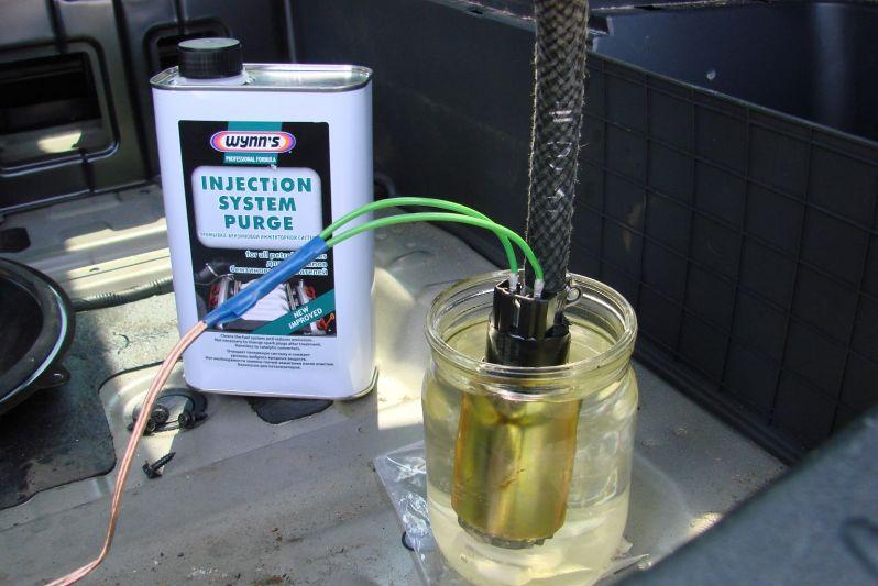 Инструкция промывка инжектора