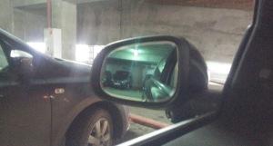 Фото бокового зеркала с электрохромным покрытием, drive2.ru