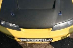 Фото механических замков для капота на автомобиле, autoshcool.ru