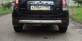 Защита бамперов Рено Дастер – улучшаем кроссовер при минимальных затратах