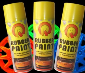 Фото жидкой резины Rubber Paint, drive2.ru