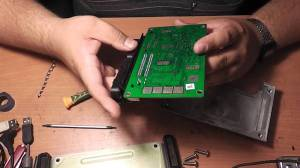 Фото ремонта ЭБУ двигателя, youtube.com
