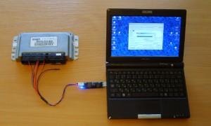 Фото чип-тюнинга ЭБУ ВАЗ 2107 инжектор, rd-lab.ru
