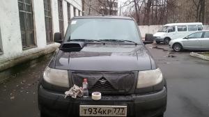 Фото воздухозаборника на капот УАЗ Патриот своими руками, drive2.ru