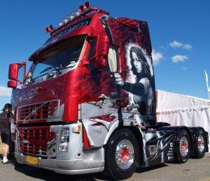 На фото - тюнинг грузового автомобиля, perec.info