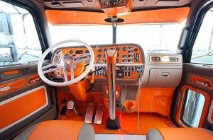 Фото тюнинга интерьера кабины грузовика, dalnoboy.do.am