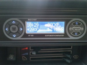 Фото бортового компьютера на ВАЗ 2107, drive2.ru