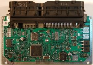 На фото - микросхема ЭБУ М73, chiptuninger.com