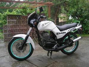 Фото внешнего тюнинга мотоцикла Ява, vk.com