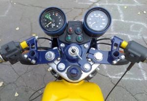На фото - тюнинг оборудования мотоцикла Ява, mayorsk.com