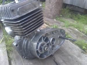 На фото - тюнинг двигателя мотоцикла Минск, ru-moto.ru