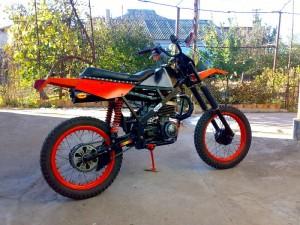 Фото спортивного тюнинга мотоцикла Минск, velby.by