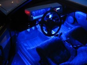 Фото тюнинга подсветки в салоне ВАЗ классика, drive2.ru