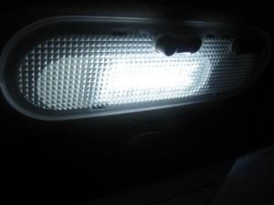 На фото - лампа освещения салона Лада Гранта, drive2.ru