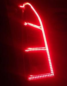 Фото эксклюзивного тюнинга задних фонарей Лада Ларгус, drive2.ru