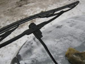 Фото замены щеток стеклоочистителя Лада Калина, ladakalinablog.ru