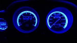 Тюнинг ВАЗ 2106 путем изменения цвета подсветки приборов фото
