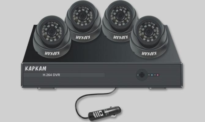 Видеорегистратор с несколькими камерами full hd