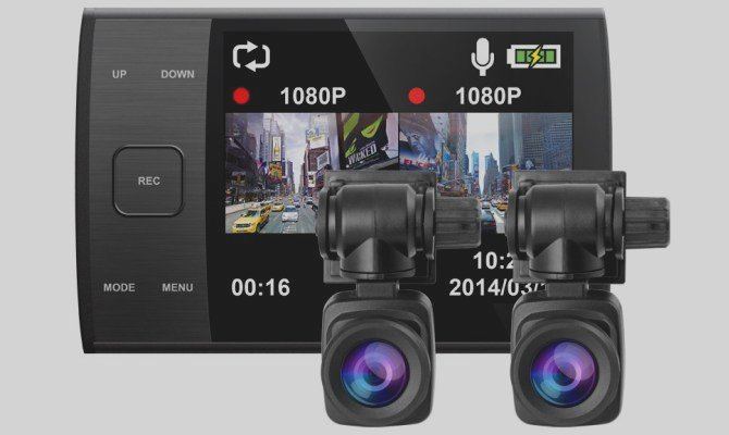 Фото автовидеорегистратора Iconbit QX Duo