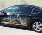 Аэрография на авто – осознанное стремление к совершенству