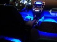 Подсветка салона автомобиля – делаем машину ярче