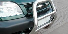Защита бамперов Нивы Шевроле – варианты модернизации внедорожника