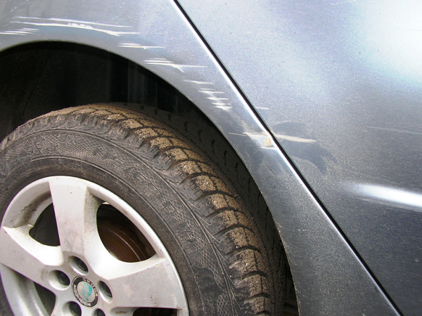 Фото дефектов краски на автомобиле