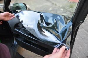 Фото снятия съемной силиконовой тонировки, intel-car.ru