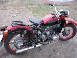 На фото - тюнинг мотоцикла Днепр, oppozit.ru