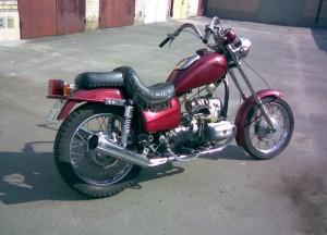 Фото тюнинга выхлопной системы мотоцикла Днепр, auto-bazar.com.ua