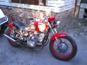 Фото покраски мотоцикла Днепр, nissanfan.ru