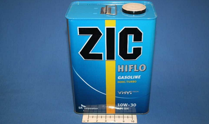 Масло ZIC Hiflo 10w30