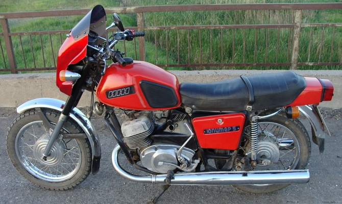 Фото мотоцикла ИЖ Юпитер-5