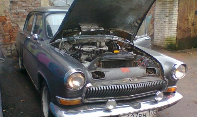 На фото - тюнинг двигателя ГАЗ 21