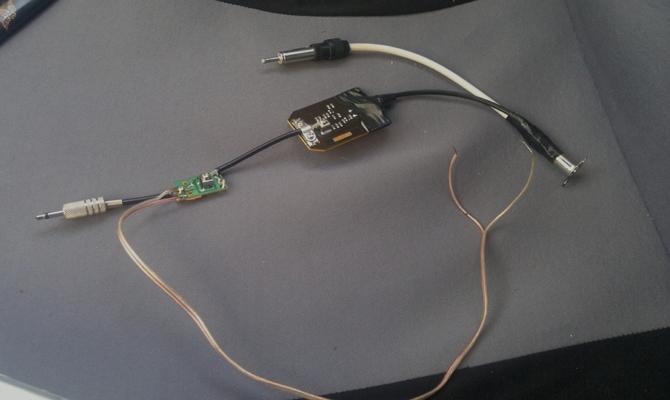 Автомобильная тв антенна с усилителем своими руками